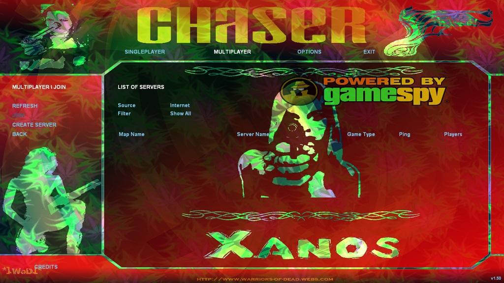 Chaser Menu Mod Wod